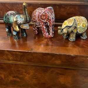 Other - Elephant Figurines | 🐘 3 different figurines.